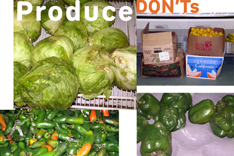 Produce Donts